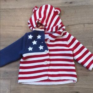 Baby Gap American flag sweater